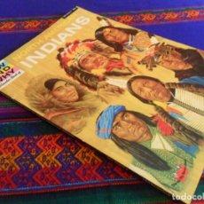Libros de segunda mano: NORTH AMERICAN INDIANS, INDIOS NORTEAMERICANOS. 1971 TRANSWORLD PUBLISHERS. RÚSTICA. PRECIOSO.. Lote 135115950