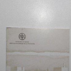 Libros de segunda mano: II SEMINARIO DE ARTES PLÁSTICAS : GRANADA, JUNIO 1984 UNIVERSIDAD DE GRANADA. Lote 135149042
