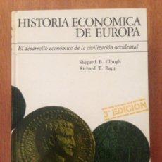 Libros de segunda mano: HISTORIA ECONÓMICA DE EUROPA. Lote 135160417