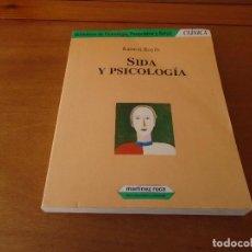 Libros de segunda mano: SIDA Y PSICOLOGÍA (RAMÓN BAYÉS) . ED. MARTÍNEZ ROCA.. Lote 135250230