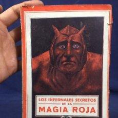 Libros de segunda mano: LOS INFERNALES SECRETOS MAGIA ROJA BIBLIOTECA CIENCIAS OCULTAS DEMONIO DIABLO INTONSO 19,5X12,5CMS. Lote 135264754
