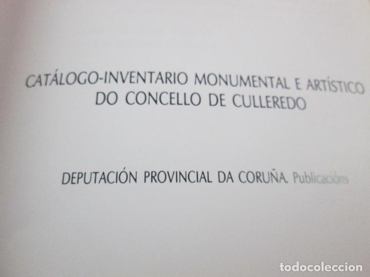 Libros de segunda mano: LIBRO-AS PEDRAS ARMEIRAS-XOSÉ ANTÓN GARCÍA GONZÁLEZ LEDO-CATÁLOGO/INVENTARIO DE CULLEREDO - Foto 7 - 135276894
