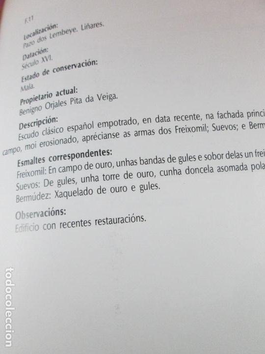 Libros de segunda mano: LIBRO-AS PEDRAS ARMEIRAS-XOSÉ ANTÓN GARCÍA GONZÁLEZ LEDO-CATÁLOGO/INVENTARIO DE CULLEREDO - Foto 10 - 135276894