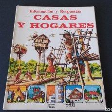 Libros de segunda mano: LIBRO JUVENIL SM PLESA. CASAS Y HOGARES. Lote 135313091