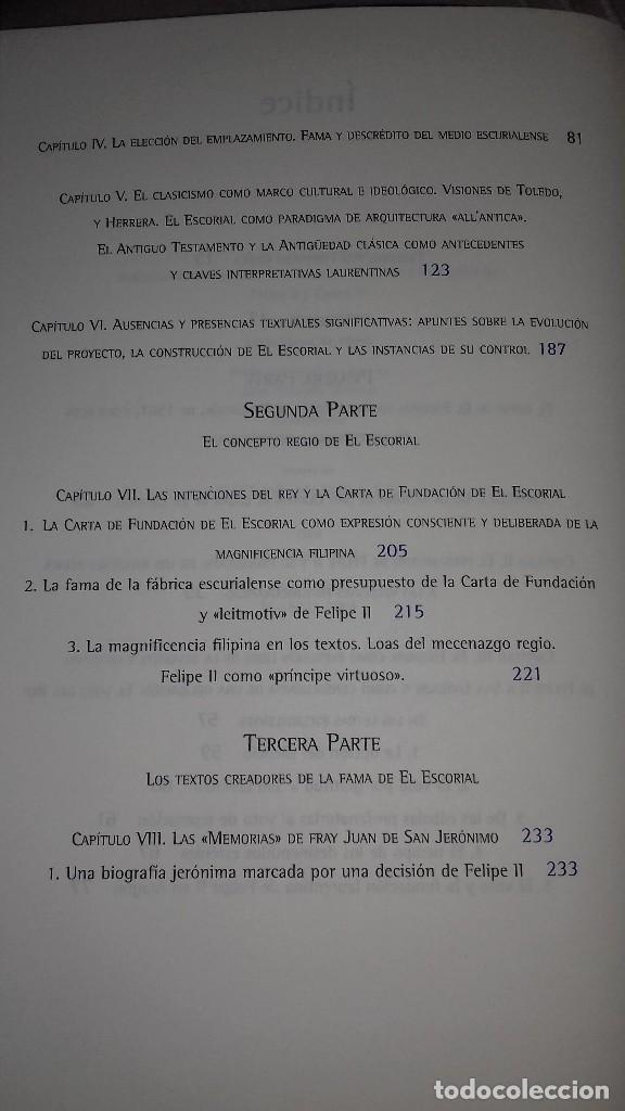 Libros de segunda mano: De obra insigne y heroica a octava maravilla del mundo. La Fama del Escorial en el siglo XVI. 2001. - Foto 4 - 135337866
