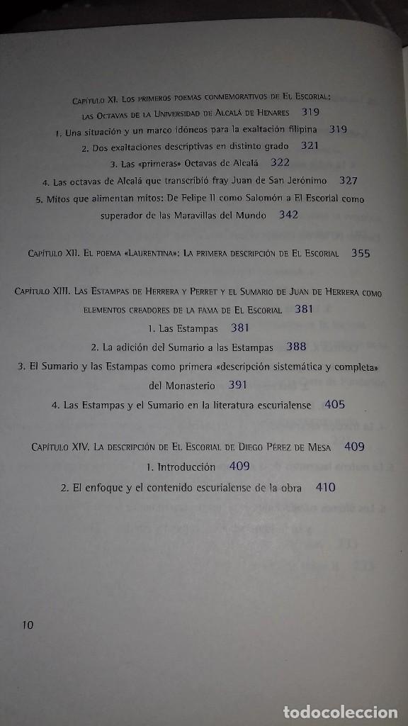 Libros de segunda mano: De obra insigne y heroica a octava maravilla del mundo. La Fama del Escorial en el siglo XVI. 2001. - Foto 6 - 135337866