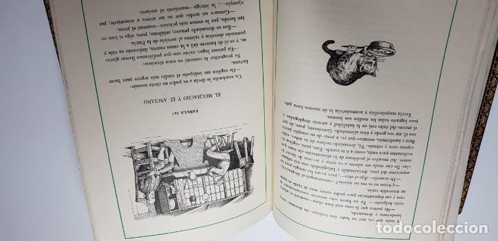 Libros de segunda mano: FABULAS ESCOGIDAS DE FLORIAN. 500 EJEMPLARES. BONITA ENCUADERNACIÓN. - Foto 4 - 135360482