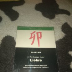 Libros de segunda mano: HOROSCOPO CHINO-LIEBRE. Lote 135364599