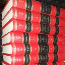 Libros de segunda mano: ENDIKA MOGROBEJO,BLASONES Y LINAJES DE EUSKALHERRIA, 10 TOMOS,EXTRENAR. Lote 135403993