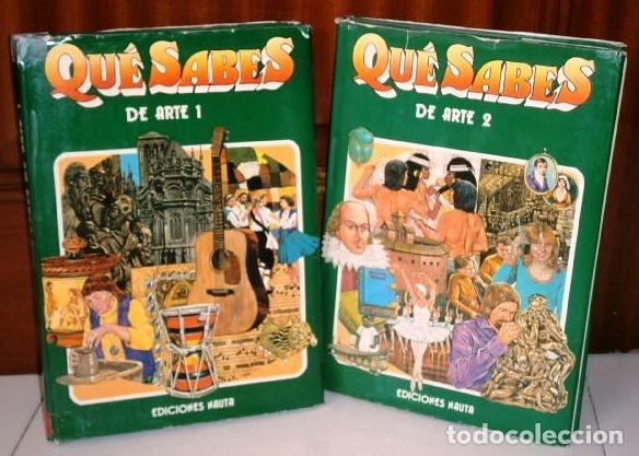 QUÉ SABES DE ARTE 2T POR DESMOND WARD, DAVID ROBERTS Y GEORGE BEAL DE ED. NAUTA EN BARCELONA 1977 (Libros de Segunda Mano - Historia - Otros)