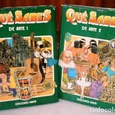 Libros de segunda mano: QUÉ SABES DE ARTE 2T POR DESMOND WARD, DAVID ROBERTS Y GEORGE BEAL DE ED. NAUTA EN BARCELONA 1977. Lote 26416110