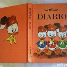 Libros de segunda mano: DIARIO AGENDA ESCOLAR DE WALT DISNEY AÑO 1984 DE EDICIONES MONTENA SA. Lote 135510090