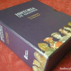 Libros de segunda mano: HISTORIA DE NAVARRA. 5 TOMOS. GOBIERNO DE NAVARRA. CON ESTUCHE. NUEVO. Lote 135530374