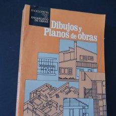 Libros de segunda mano: DIBUJOS Y PLANOS DE OBRAS / ENCICLOPEDIA DEL ENCARGADO DE OBRAS / CEAC 1983 / SIN USAR. Lote 223458461