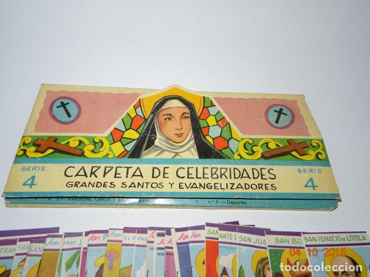 Libros de segunda mano: Antigua *CARPETA DE CELEBRIDADES - SANTOS Y EVANGELIZADORES* 23 Tomitos Edit. ROMA Año 1961 - Foto 3 - 135620918