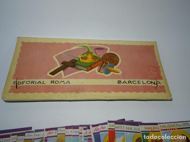 Libros de segunda mano: Antigua *CARPETA DE CELEBRIDADES - SANTOS Y EVANGELIZADORES* 23 Tomitos Edit. ROMA Año 1961 - Foto 6 - 135620918