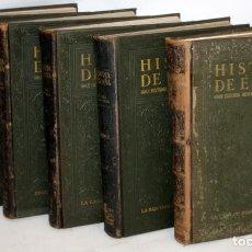 Gebrauchte Bücher - HISTORIA DE ESPAÑA GRAN HISTORIA GENERAL DE LOS PUEBLOS HISPANICOS INSTITUTO GALLACH. 5 TOMOS - 135667879