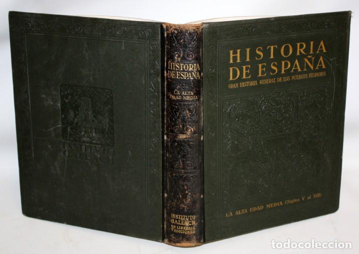Libros de segunda mano: HISTORIA DE ESPAÑA GRAN HISTORIA GENERAL DE LOS PUEBLOS HISPANICOS INSTITUTO GALLACH. 5 TOMOS - Foto 3 - 135667879
