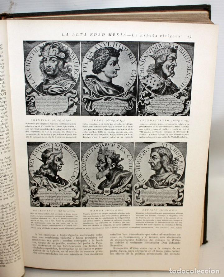 Libros de segunda mano: HISTORIA DE ESPAÑA GRAN HISTORIA GENERAL DE LOS PUEBLOS HISPANICOS INSTITUTO GALLACH. 5 TOMOS - Foto 8 - 135667879