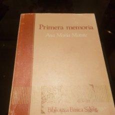 Libros de segunda mano: PRIMERA MEMORIA - SALVAT -. Lote 135712695