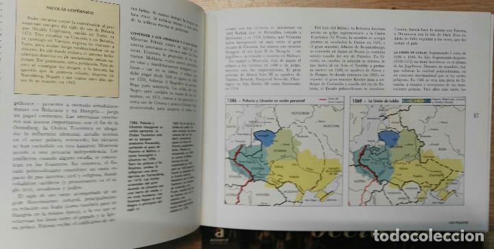 Libros de segunda mano: ATLAS DE LOS PUEBLOS DE EUROPA CENTRAL Y ATLAS DE LOS PUEBLOS DE EUROPA OCCIDENTAL. ACENTO, 1995. - Foto 5 - 135769726