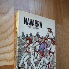 Libros de segunda mano: NAVARRA / JOSÉ LUIS HUICI / EDITORIAL TABER, 1970 / TAPAS DURAS CON SOBRECUBIERTA. Lote 135477170