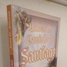 Libros de segunda mano: LENDAS DO CAMINHO DE SANTIAGO. A ROTA ATRAVES DE RITOS E MITOS .COMENTARIOS JUAN G. ATIENZA. Lote 135687295