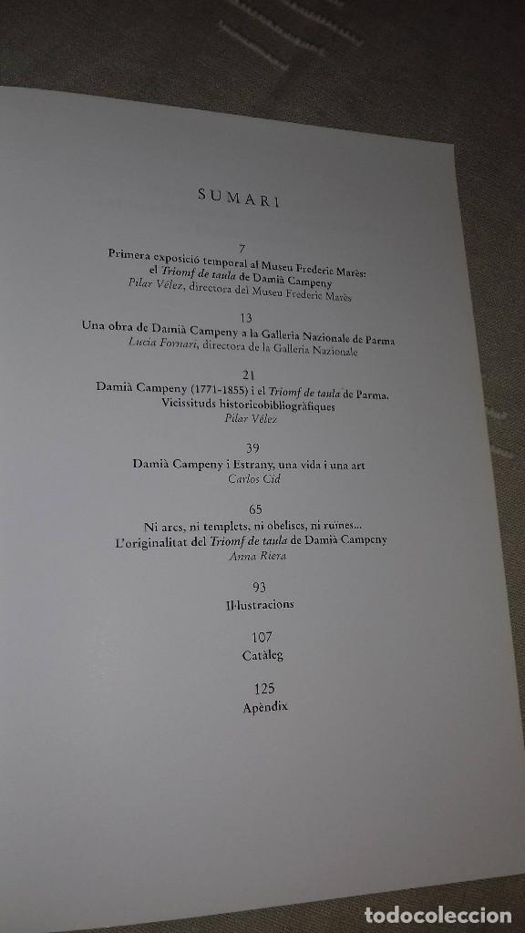 Libros de segunda mano: La Taula de l'ambaixador. El Triomf de taula de Damià Campeny. Museu Marès, 1999. - Foto 2 - 135784670
