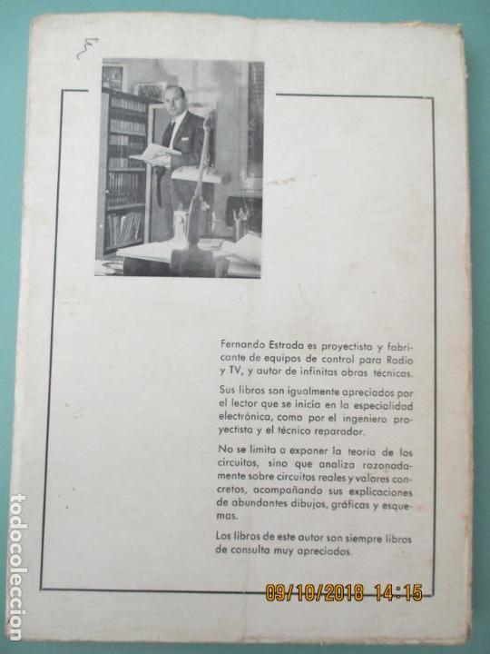 Libros de segunda mano: TV EN COLOR PRÁCTICA. FERNANDO ESTRADA VIDAL. 1ª EDICIÓN, FEBRERO 1968. BARCELONA - Foto 3 - 135824830