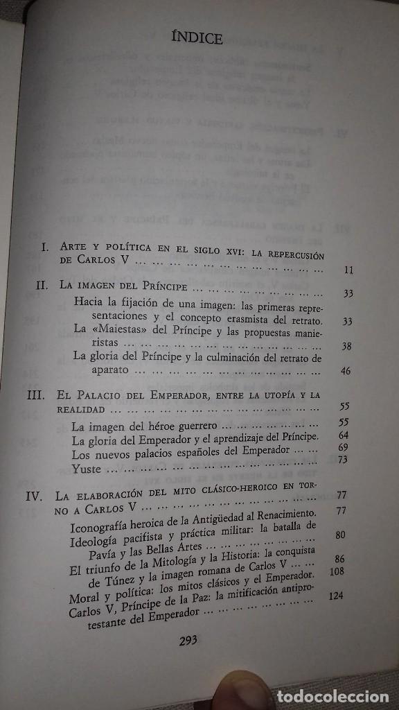 Libros de segunda mano: Carlos V y la imágen del héroe en el Renacimiento. Fernando Checa Cremades. Taurus, 1987. - Foto 3 - 135839206