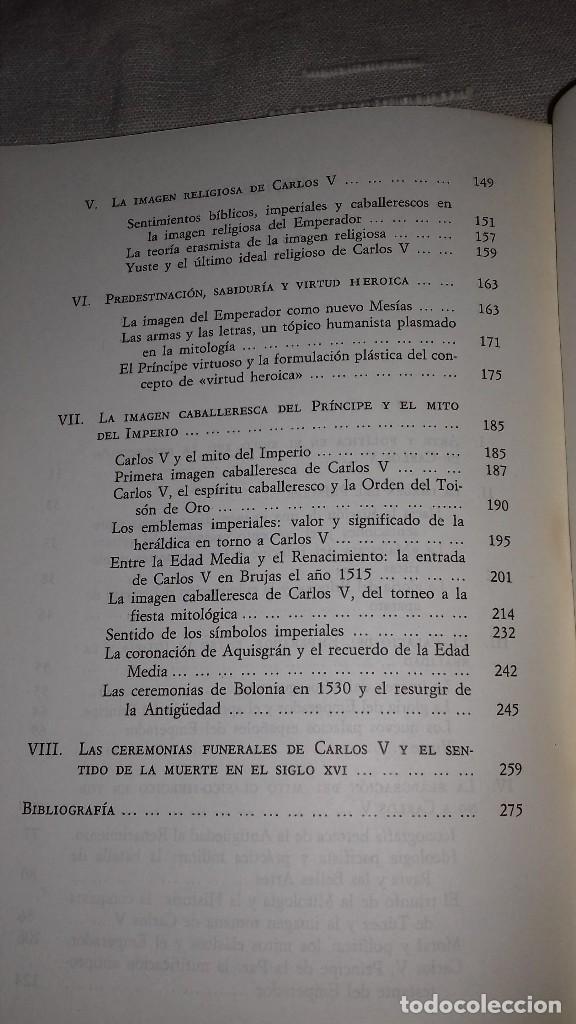 Libros de segunda mano: Carlos V y la imágen del héroe en el Renacimiento. Fernando Checa Cremades. Taurus, 1987. - Foto 4 - 135839206