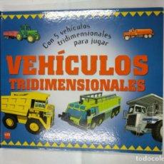 Libros de segunda mano: VEHICULOS TRIDIMENSIONALES. CHERRY SIMMONDS. SM. TDK250. Lote 135845306