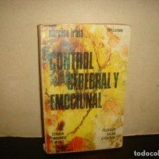 Libros de segunda mano: (OF6) CONTROL CEREBRAL Y EMOCIONAL. Lote 135845502