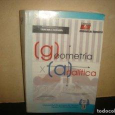 Libros de segunda mano: (OF6) GEOMETRÍA ANALÍTICA. Lote 135896050