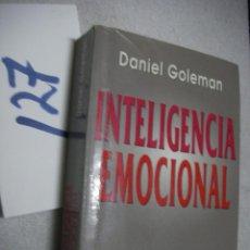 Libros de segunda mano: INTELIGENCIA EMOCIONAL. Lote 135910286