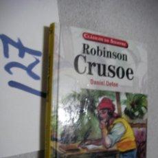 Libros de segunda mano: ROBINSON CRUSOE - DANIEL DEFOE. Lote 135911278