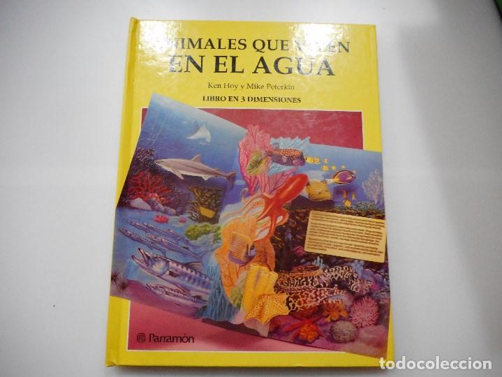 KEN HOY Y MIKE PETERKIN ANIMALES QUE VIVEN EN EL AGUA Y90495 (Libros de Segunda Mano - Literatura Infantil y Juvenil - Otros)