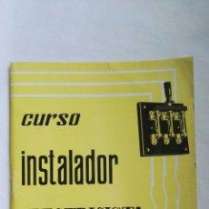 Libros de segunda mano: CURSO DE INSTALADOR ELECTRICISTA ENVIO 2 CEAC. Lote 136006116