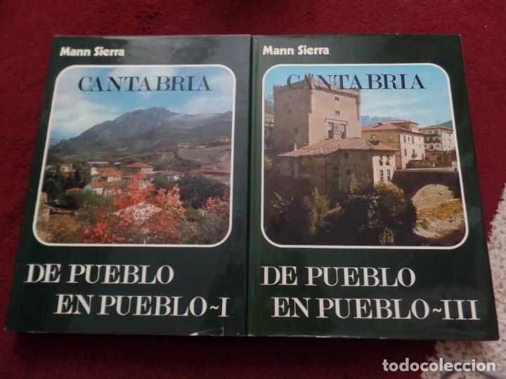 DE PUEBLO EN PUEBLO CANTABRIA MANN SIERRA (Libros de Segunda Mano - Bellas artes, ocio y coleccionismo - Otros)