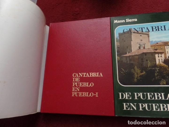 Libros de segunda mano: De Pueblo en Pueblo CANTABRIA Mann Sierra - Foto 2 - 136008034
