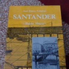Libros de segunda mano: SANTANDER JOSÉ SIMÓN CABARGA. Lote 136015710