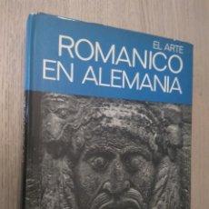 Libros de segunda mano: 1ª EDICION. EL ARTE ROMANICO EN ALEMANIA. DR. HARALD BUSCH. JUVENTUD. Lote 136021254