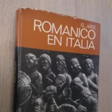 Libros de segunda mano: 1ª EDICION. EL ARTE ROMÁNICO EN ITALIA. DECKER, HEINRICH. JUVENTUD. Lote 136021678