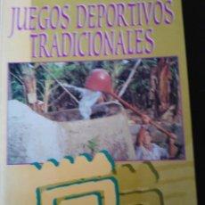 Libros de segunda mano: JUEGOS DEPORTIVOS TRADICIONALES - CANARIAS. Lote 136037714