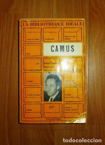 BRISVILLE, JEAN-CLAUDE. CAMUS (Libros de Segunda Mano (posteriores a 1936) - Literatura - Otros)