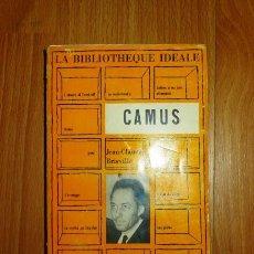Libros de segunda mano: BRISVILLE, JEAN-CLAUDE. CAMUS. Lote 136104518