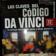 Libros de segunda mano: LAS CLAVES DEL CÓDIGO DA VINCI, VVAA, ED. NOWTILUS. Lote 136133610