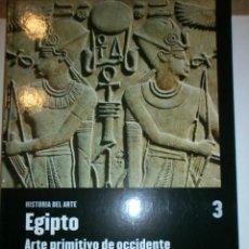 Libros de segunda mano: HISTORIA DEL ARTE EGIPTO ARTE PRIMITIVO DE OCCIDENTE. Lote 136244254