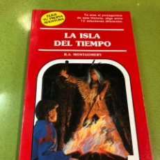Libros de segunda mano - Libro juego antiguo elige tu propia aventura La Isla del Tiempo. Egb,Años80-90 - 136324012