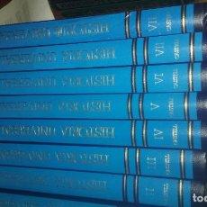 Libros de segunda mano: HISTORIA UNIVERSAL. 8 TOMOS.CASTELL.1989. Lote 136440182